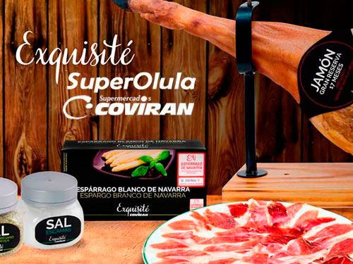 Jamón Exquisité Gran Reserva por 47€/pieza en Super Olula Covirán, supermercados en Olula del Río