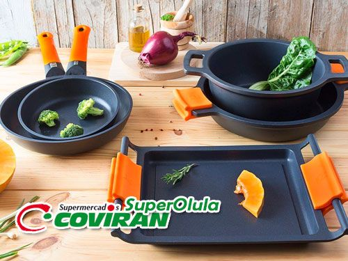 Sartén Top Chef por 6.99€ en Super Olula Covirán, supermercados en Olula del Río