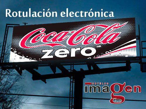 Rotulación electrónica para Gasolineras, Farmacias o de publicidad. Rótulos Imagen de Huércal-Overa
