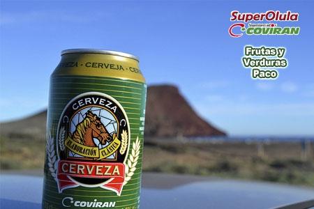 Ven a SuperOlula – Coviran y llévate nuestra cerveza Coviran 4 Latas a 0.99 € en Olula.