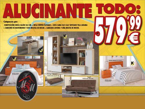Piso completo por mueble hogar milenium for Muebles en almeria ofertas