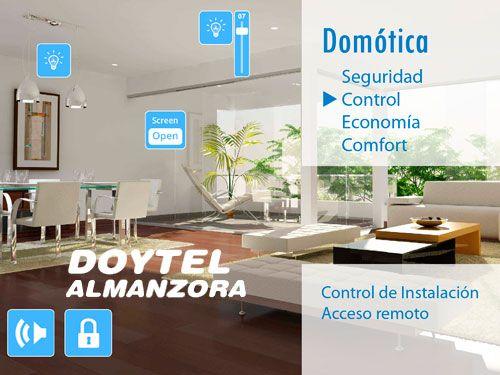 Tu casa siempre controlada!! Sistemas de Domótica Avanzada con Doytel Almanzora