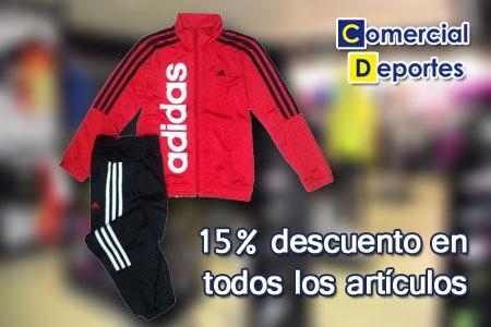mensaje gráfico recepción  Especial Comuniones - Chándal adidas niño y todos los artículos de las  tiendas Comercial Deportes Albox con un 15% dto