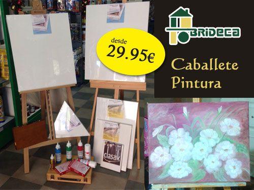Caballete Pintura ideal para regalar con Brideca Pinturas y Decoración en Huércal-Overa