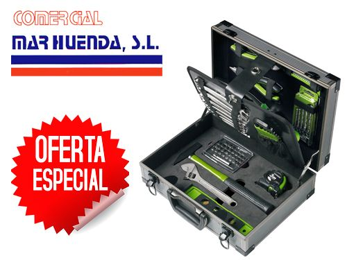 Maletín de herramientas en Comercial Marhuenda, ferreterías en Olula del Río.