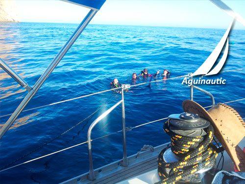 Bucea, Navega y conoce los Fondos Marinos del Mediterráneo en nuestra Yincana Submarina. Aguinautic