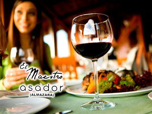 Asador el Maestro nos ofrece una espectacular comida con Maridaje de Vinos