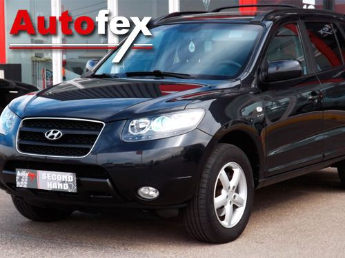 Este coche puede ser tuyo!! Hyundai Santa Fe 2.2 Diesel. Autofex de Albox y Antas, segunda mano en Almería