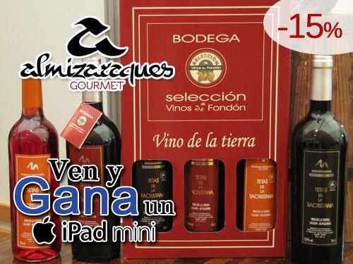 15% descuento en Vinos de Almería con Almizaraques Gourmet de Albox