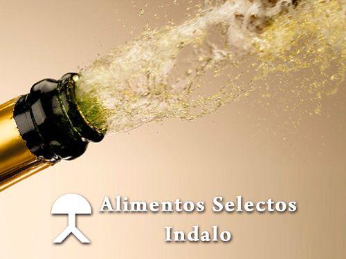 Cava español o Champagne Francés. Alimentos Selectos Indalo, Cuevas del Almanzora