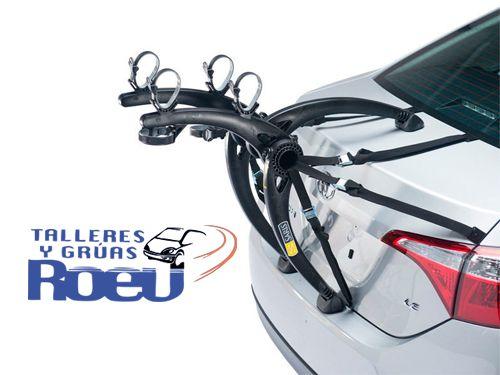 Soporte universal de 2 bicicletas para el Coche o Porta-Perros en Talleres y Gruas Roev de Albox