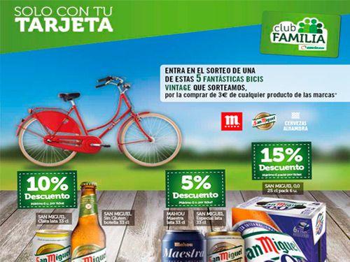 Gana una de las 5 Bicis Vintage con Super Olula Covirán, supermercados en Olula del Río
