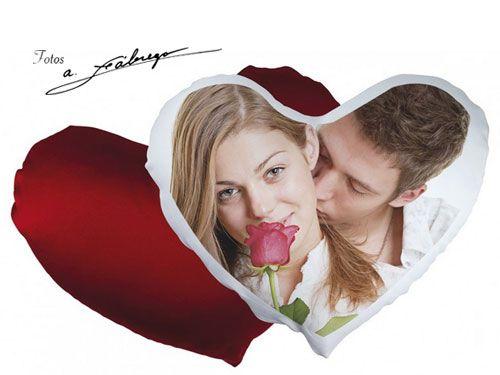 Corazón personalizado con Foto por 24.90€. Fotos Fábrega, fotógrafos en Albox.