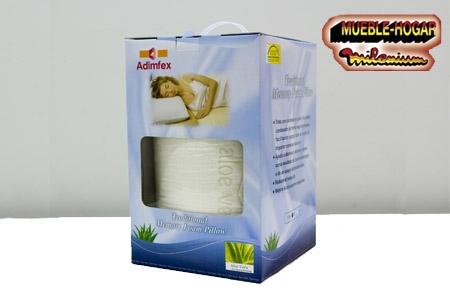 Almohada viscoelástica de 70 cm por 8€ en vez de 35€. Evita problemas musculares y de espalda en Mueble Hogar Milenium Zurgena