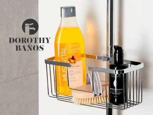 Organiza tu ducha con nuestras estanterías. Dorothy Baños, baños en Albox (Almería)