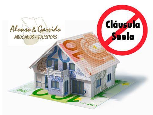 Hipotecas con clausulas suelo abogados alonso y garrido for Abogados clausula suelo