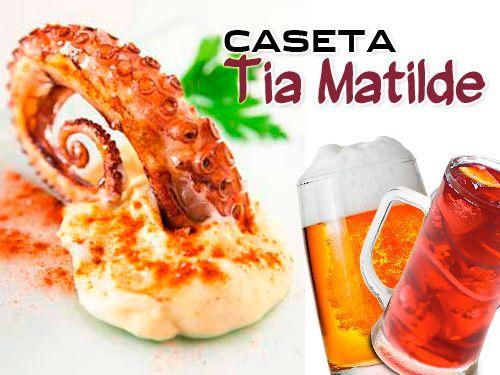 Jarra Cerveza o tinto de Verano + 5 Tapas + ½ Ración en Cela!! Bar Caseta Tia Matilde Restaurantes en Cela