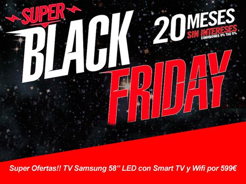 Black Friday Tiend 21, TV, móviles, hogar, ordenadores… en BricoOller Albox
