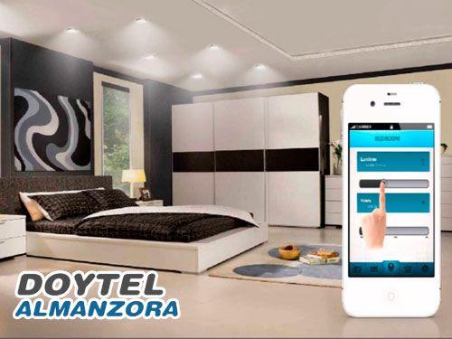 Controla tu hogar con un solo Click desde tu Móvil y por menos de lo que imaginas. Sistemas de Domótica con Doytel Almanzora