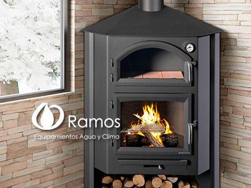 Elegantes Hornos-estufa en Equipamientos Ramos de Fines, hornos en Almería