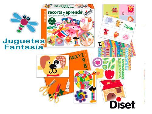 Juegos educativos Diset por 6.95€. Juguetes Fantasía de Huércal-Overa