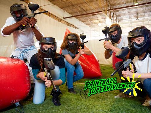 Pista de Paintball Indoor en Aguadulce los días 24, 25 y 26 de Noviembre. Paintball Supervivientes