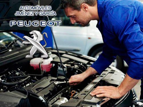Deja tu coche en manos de mecánicos profesionales. Automóviles Jiménez y Garcia - Peugeot de Albox
