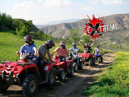 Ruta en Quad por Sierra Cabrera, solo 25 Euros. Aventura con Extreme Adventure Mojácar