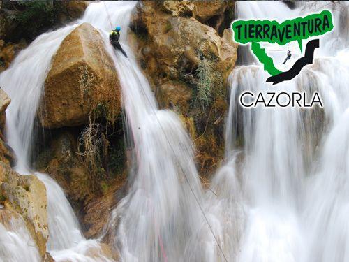 Descubre un nuevo mundo! Descenso de Cañones- Tierraventura Cazorla