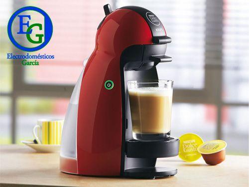 Cafetera de cápsulas Dolce Gusto en Electrodomésticos Garcia de Velez-Rubio