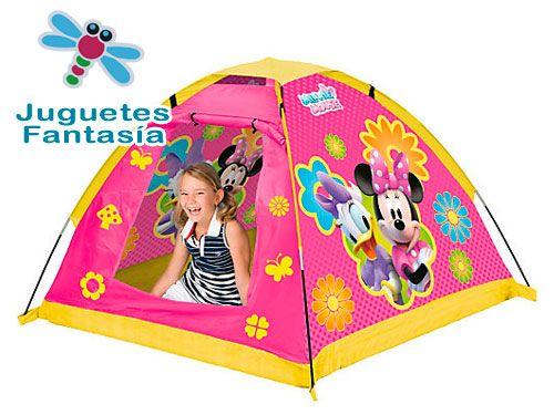 Tienda de Campaña Spiderman o Minnie Mouse y Daisy, en Juguetes Fantasía de Huércal-Overa