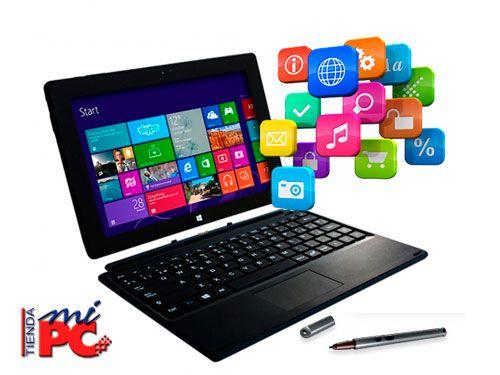 Dos en UNO!! Tablet + Funda con Teclado en Tienda Mi Pc de Albox