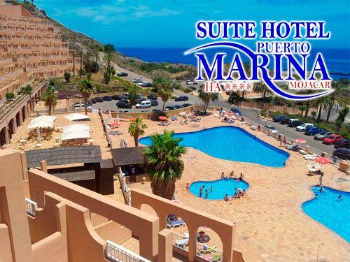 Semana Santa y Puente de Mayo! Alojamiento con Desayuno Buffet en Mojácar, con Suite - Hotel Puerto Marina