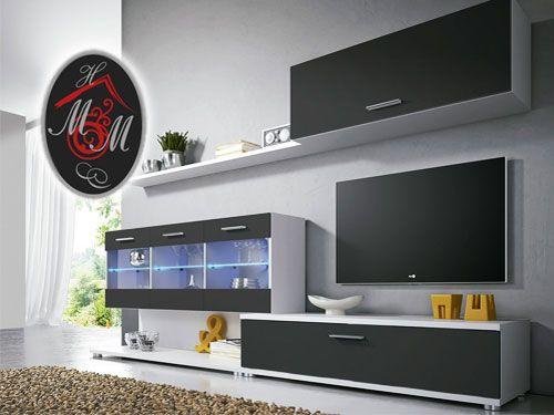 Composici n nica con luces led por 245 mueble hogar for Muebles milenium catalogo