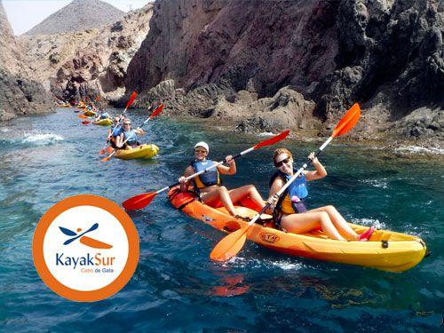 Ruta en Kayak por Cabo de Gata + Snorkell + Completo Reportaje Fotográfico. KayakSur