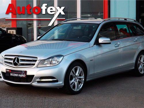 Mercedes C220 con 170CV por sólo 20.500 Euros en Autofex, vehículos de ocasión en Almería