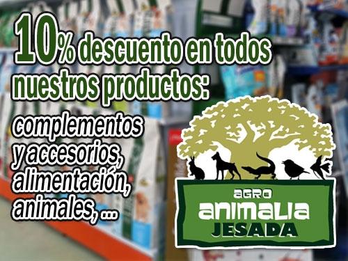 Rebajas en Animalia Jesada -10% dto- Mascotas y Animales Olula del Rio