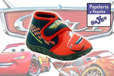 Zapatillas Niño Cars ahora en Papeleria Saygo Albox