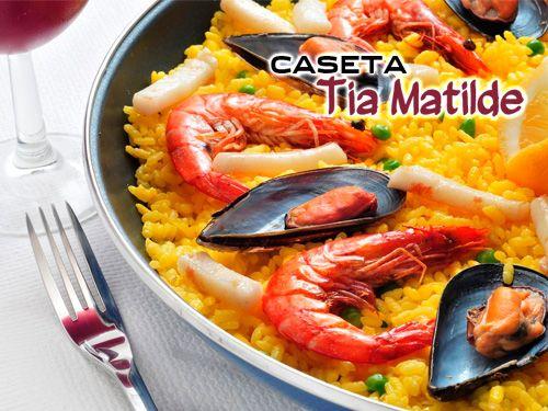 Balsa de Cela! Paella, Ensalada, Bebida y Postre por 10€!! Caseta Tia Matilde, Restaurantes en Cela