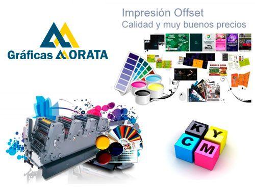 Imprime a todo color Offset, calidad inmejorable!! . Gráficas Morata de Huércal-Overa