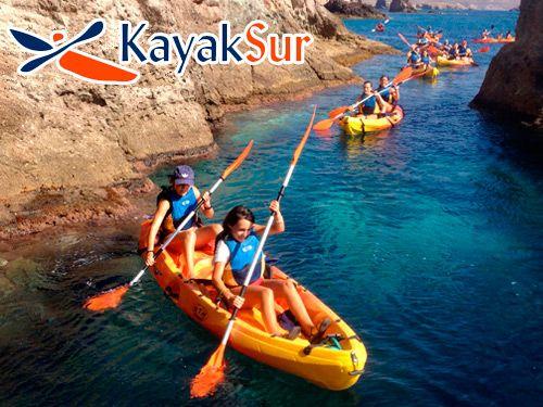 Paseo en Kayak + Snorkell + Reportaje Fotográfico + Refrigerio con KAYAKSUR