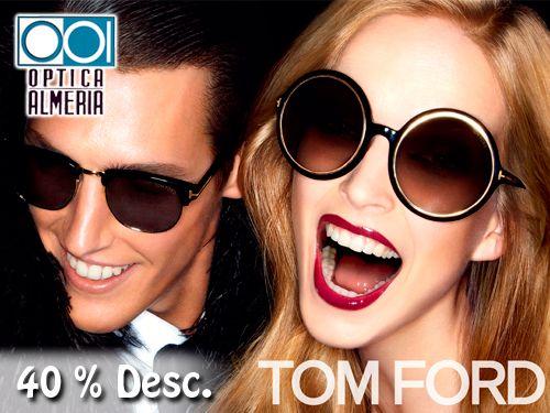Gafas de Sol y Graduadas TomFord en Óptica Almería, Albox