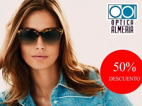 eda6c21b8c Tus Vacaciones con la mejor protección Solar. Gafas de Sol con hasta el 50%  descuento en Óptica Almería, Albox y Huercal Overa