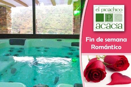 Disfruta de un Fin de Semana Romántico mas Comida Degustación por 190€ en vez de 300€ en Casas Rurales Picachico