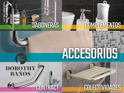 10% descuento en Accesorios de Baño. Dorothy Baños, baños en Albox (Almería)
