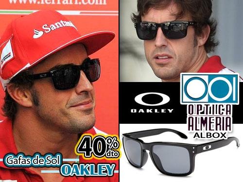 52de3ed8395 40% descuento en Gafas de Sol OAKLEY estilo deportivo en Óptica Almería