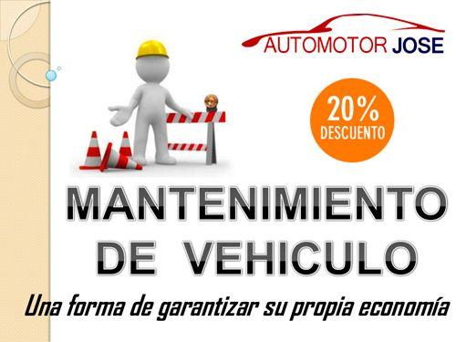 20% dto en Mantenimientos: Cambio de Aceite, Pastillas, Filtros, kit Distiribución,… en Automotor José de Huércal-Overa