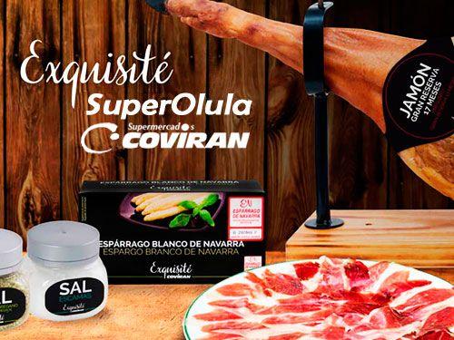 Jamón Exquisité Gran Reserva por 46.95€/pieza en Super Olula Covirán, supermercados en Olula del Río