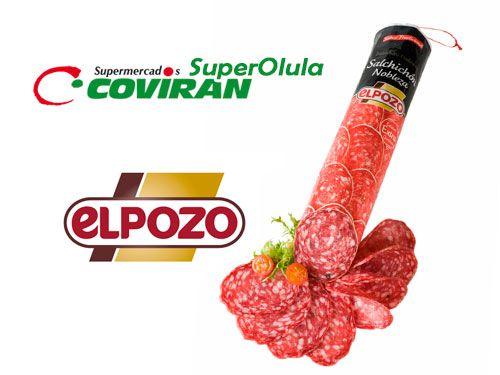 Salchichón Nobleza ElPozo por 6.96€ en Super Olula Covirán, supermercados en Olula del Río