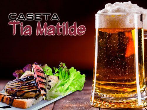 5 Tapas + ½ Ración + Jarra de Cerveza o Tinto de Verano en Cela!! Bar Caseta Tia Matilde, Restaurantes en Cela